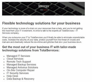 IT Services - Computer Services - Computer Repair