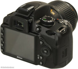 Nikon D3200 with 18-55mm kit lens and more