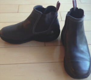 Women's authentic MBT boots: brown leather size 6.5
