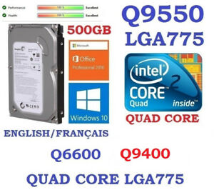 Hard drive 500GB SATA  & Windows 10 Pro and Office 2016: 40$
