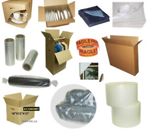 Moving or Storage Boxes, Packing Supplies Specialized Outlet