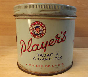 Canne de tabac Player's.