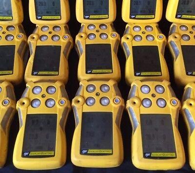 Bw Gasalert Quattro Multi Gas Monitor Detector Meter O2 Co H2s Lel New Oxy