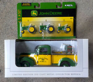 JOHN DEERE Die-Cast & Ltd.Edition 1940 Ford-Cornsheller Load!