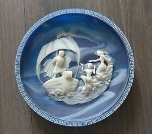 Incolay The Sirens Collector Plate