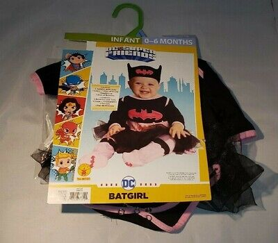 Infant Batgirl Halloween Costumes (Batgirl Halloween Costume Infant DC Superfriends 0-6months)