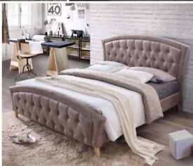 BEST SELLING BRAND- Brand New Double Size Merci Designer Bed With Wide Range Of Mattresses-Kingsize