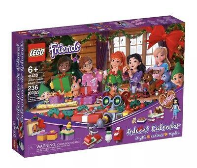 Lego FRIENDS 41420 Christmas Advent Calendar MINIFIGURES 24 Gifts 2020 NEW