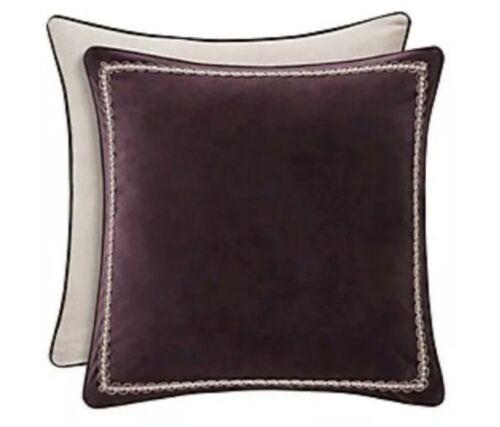 J Queen New York Grace European Sham Purple 26″ x 26″ $54.99 NIP Bedding