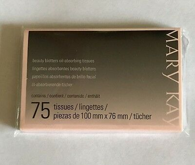 Mary kay Beauty Blotters Oil-Absorbing 75 Tissues