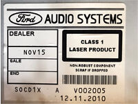 Ford SMax stereo