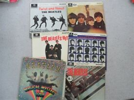 A COLLECTION OF BEATLES EP's. ALL ORIGINAL 1960's PRESSINGS.