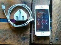 Iphone 5S white & sliver 16gb o2