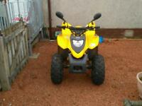 100cc road legal quad