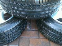 Mercedes Alloys with New Tyres