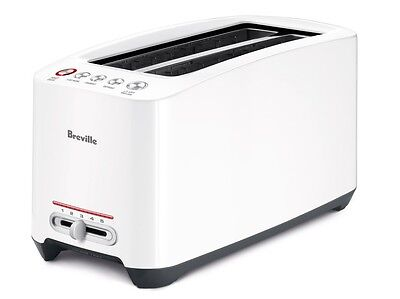 Breville The 'Lift and Look' Touch Toaster White BTA630XL 110 Volts