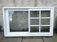 Timber wooden double glazed sash and case style window