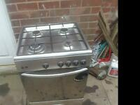 gas freestanding cooker with electric i