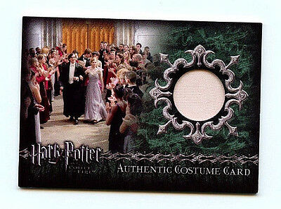 Harry Potter Goblet of Fire Costume card Ci1 Artbox Card  2 case chase card HP-1 - Harry Potter Character Costume