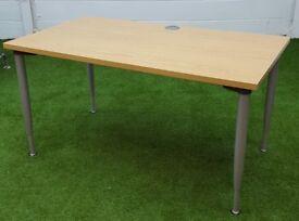 Rectangular oak desk cheap