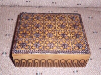 Small Wood Boxes (Small Ornate Wood Trinket Box Made in)