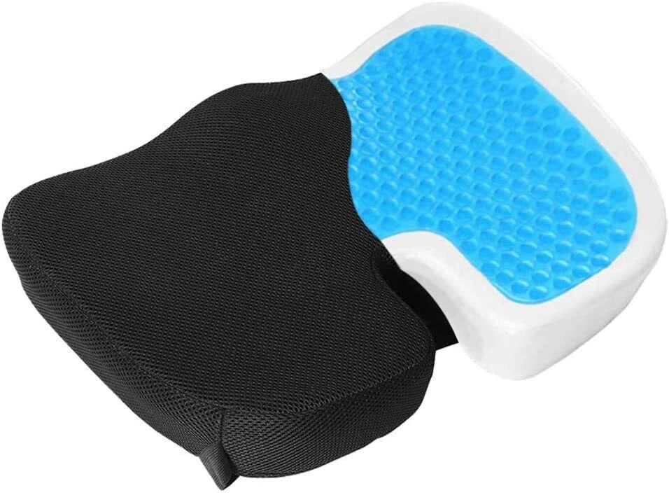 Coccyx Orthopedic Gel-enhanced Comfort Memory Foam Seat Chai
