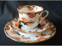 Antique Royal Albert Tea Cup Trio 1920s - First
