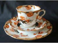 Antique Royal Albert Tea Cup Trio 1920s