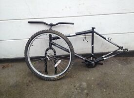 Spare bike parts for sale - front wheel, back wheel
