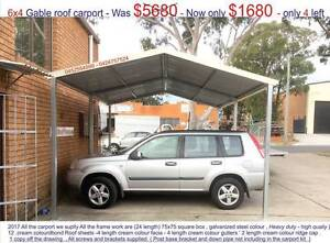 New   gable carport  4 x 6  $1680 or 4 x 9  $ 2550 Ingleburn Campbelltown Area Preview