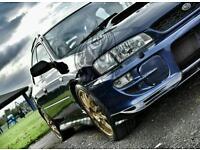 Subaru impreza 2.5 turbo wagon 300bhp not evo sti type r gti s3 gtr r33 wrx 4x4