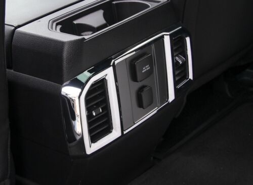 1x Chrome Rear Air Conditioning Outlet Vent Cover Trim For Ford F150 F-150 15-17