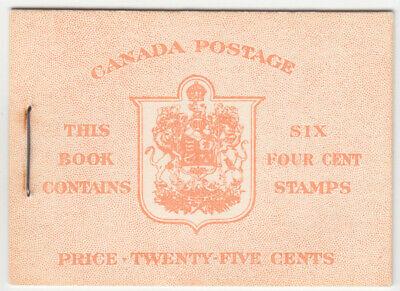 Canada - BK45 - 4c Voilet QEII, Booklet, Pane #328b - MNH