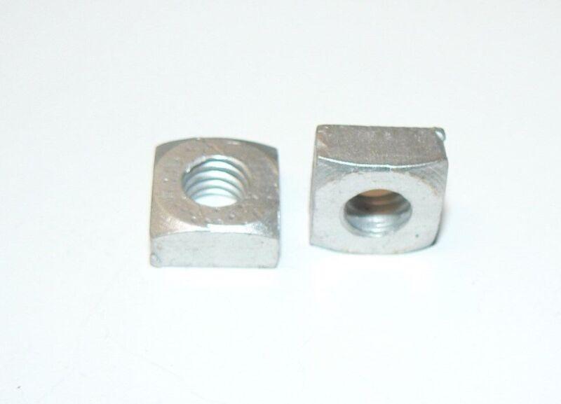 "5/16""-18 Aluminum Square Nuts - Lot of 100 Pcs."