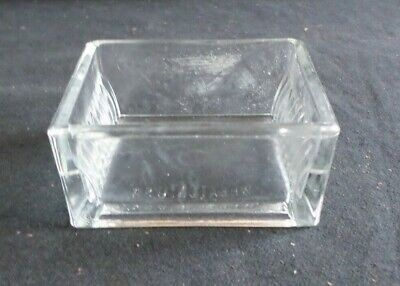 Unbrandedwheaton 10-slide Rectangular Glass Staining Dish Only Chipped 900170