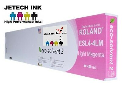 Roland Esl4-4 Eco-solvent Max2 Compatible 440ml Ink Cartridge - Light Magenta