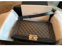 3e3c18369d CHANEL BOY BAG Authentic .. not Mulberry Gucci Prada fendi Hermes