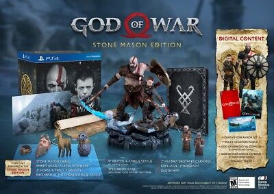 God Of War Complete Collection Ps3   Ps4  Collectors Edition Included