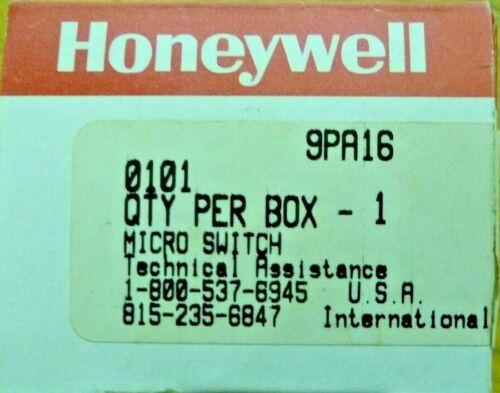HONEYWELL MICRO SWITCH 9PA16 MICRO LIMIT HEAD SWITCH