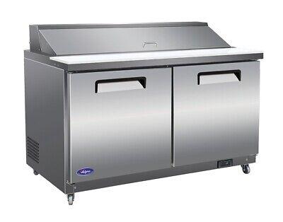Valpro Vp60sm 61 2-door Megatop Sandwich Salad Prep Table Cooler Refrigerator