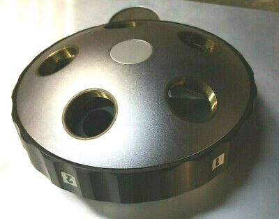 Ade Phase Shift Swhr Microxam Nosepiece Turret 5 Lens Position Microscope Nikon