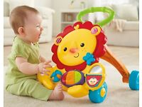 BNIB Fisher-Price Musical Lion Baby Walker 6 - 36 months
