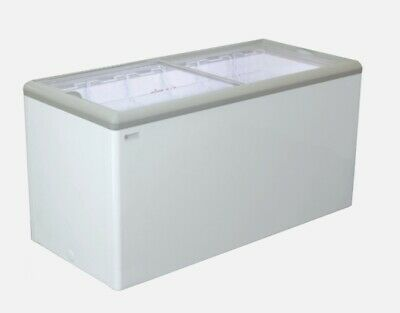 New 71 Sliding Flat Glass Top Lid Ice Cream Freezer Nsf Excellence Hl-20hc 9719
