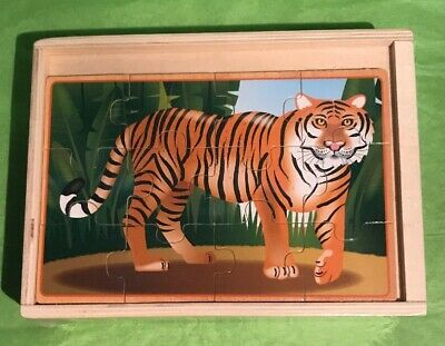 Animals 12 Piece Jigsaw Puzzle (PUZZLE - JIGSAW MELISSA & DOUG