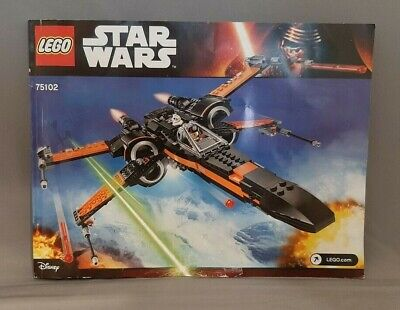 LEGO Star Wars Poe's X-Wing Fighter 75102, Instruction Manual Only-FREE SHIPPING