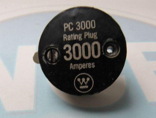 WESTINGHOUSE PC3000 3000A RATING PLUG