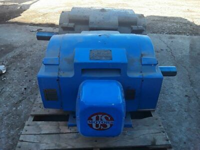 Us Electric 60 Hp Electric Motor 364t Frame 17851480 Rpm 460 Volt