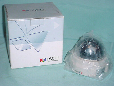 Tcm-3111 H.264 Acti Indoor Fixed 2.8mm Ip Dome Camera Poe Security Motion Alarm