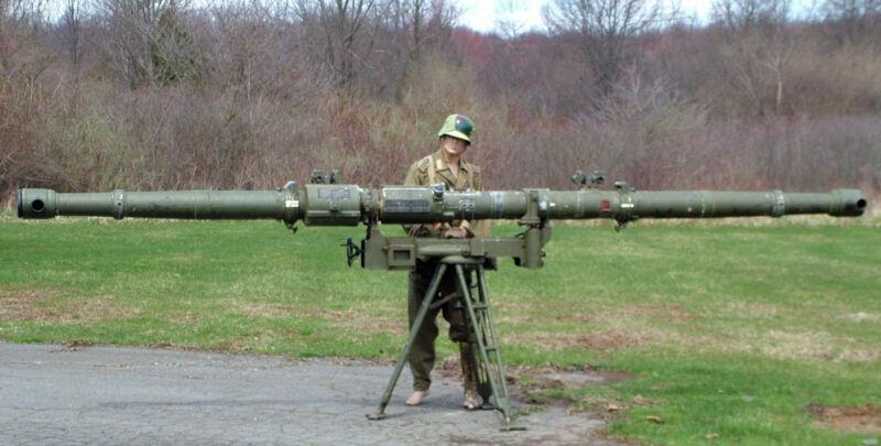 German WWII Artillery 5 Meter Coastal Rangefinder