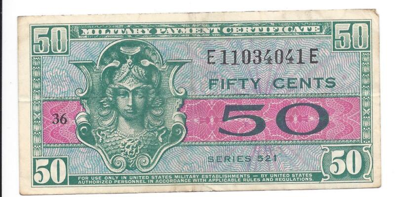 MPC Series 521  50 Cents 3rd  Printing   VERY FINE